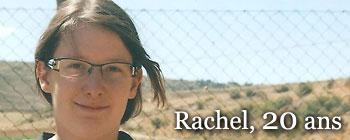 Rachel, 20 ans | AVEP - Victimes