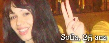 Sofia, 25 ans | AVEP - Victimes