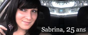 Sabrina, 25 ans | AVEP - Victimes