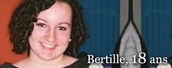 Bertille, 18 ans | AVEP - Victimes