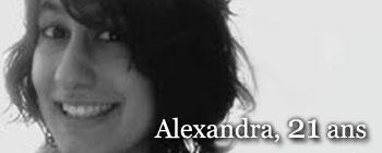 Alexandra, 21 ans | AVEP - Victimes